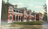UNUSED / SUPERB c1910, TOOWOOMBA HOSPITAL POSTCARD. COLOURED SHELL SERIES.