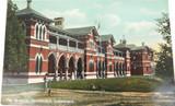 UNUSED / SUPERB c1910, TOOWOOMBA HOSPITAL POSTCARD. COLOURED SHELL SERIES.