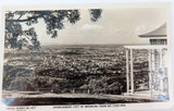 VINTAGE REAL PHOTO POSTCARD. BRISBANE FROM MT COOTHA. SIDUES SERIES No 507