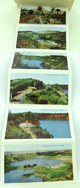 "c1940s / 1950s COLOUR FOLDOUT UNUSED ""VIEWS OF MT GAMBIER"""