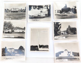8 x c1940/50's CANBERRA, ACT REAL PHOTO SOUVENIR CARDS. MARCHANT SERIES + ?