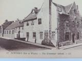 ISLE OF WIGHT. RARE EARLY 1900s POSTCARD. NEWPORT GRAMMAR SCHOOL NO 17 LL SERIES