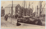 ISLE OF WIGHT. RARE EARLY 1900s POSTCARD. NEWPORT TOWN QUAY NO 12 LL SERIES