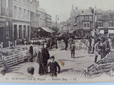 ISLE OF WIGHT. RARE EARLY 1900s POSTCARD. NEWPORT MARKET DAY NO 11 LL SERIES
