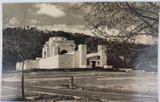 CANBERRA, ACT. VINTAGE REAL PHOTO POSTCARD. WAR MEMORIAL.