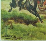 TUCKS OILETTE / OILFACSIM POSTCARD, HARRY PAYNE, COACHING DAYS NO 3478.