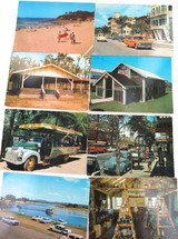 8 x c1970's MURRAY VIEWS POSTCARDS. W27, W5, W31, W131A, W101, W17, W100, W29.