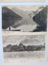 NICE SELECTION NEW ZEALAND EARLY 1900's POSTCARDS.