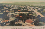 ADELAIDE , NORTH ADELAIDE FROM CATHEDRAL SOUTH AUSTRALIA EARLY 1900'S POSTCARD