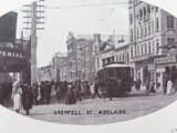 EARLY 1900'S GRENFELL STREET, ADELAIDE UNUSED POSTCARD