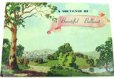 "c1940s / 1950s COLOUR FOLDOUT UNUSED ""SOUVENIR OF BEAUTIFUL BALLARAT"""