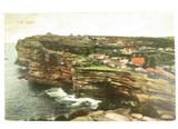 1907 THE GAP , SYDNEY COLOUR POSTCARD