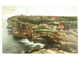 1907 THE GAP , SYDNEY COLOUR POSTCARD
