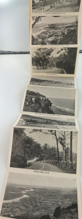 c1930's/40's SOUVENIR OF SUBLIME POINT, NSW FOLD OUT SOUVENIR