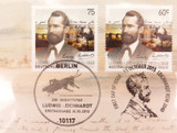 """2013 $1 PNC """"LUDWIG LEICHHARDT 1813-c1848"""" COIN PACK. MINT UNOPENED."""