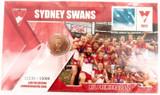 2012 $1 PNC SYDNEY SWANS AFL PREMIERS LIMITED EDITION COIN PACK. MINT UNOPENED.