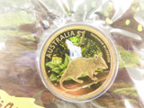 "2010 $1 CELEBRATE AUSTRALIA ""TASMANIAN WILDERNESS"" COIN PACK. MINT UNOPENED"