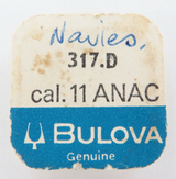 BULOVA 317.D CAL.11 ANAC REVERSING GEAR, NEW OLD STOCK, UNOPENED IN PACKET