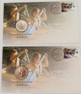 """2 x 2008 UNC 50c PNC FDC """"CENTENARY OF SCOUTING IN AUSTRALIA"""""""