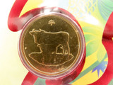 """SCARCE 2009 UNC $1 PNC FDC """"YEAR OF THE OX"""" IN ORIGINAL PROTECTIVE SLEEVE."""