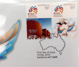 "2 X 2010 UNC $1 PNC FDC ""SHANGHAI WORLD EXPO"" IN ORIGINAL PROTECTIVE SLEEVES."
