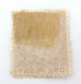 ST CHRISTOPHER c1870 QV 1d MH STAMP. G/VG