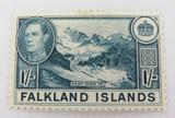 FALKLAND ISLANDS 1938 KGVI 1/- MH Og ONE SHILLING.