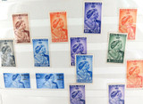 14 x 1923 - 1948 KGVI SILVER WEDDING STAMPS. MH. NICE GRADES.