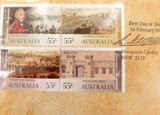 2010 LIMITED EDITION UNC $1 PNC FDC. GOVERNOR LACHLAN MACQUAIRE 09273/15000.