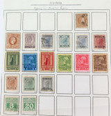 AUSTRIA OFFICES in TURKISH TURKEY EMPIRE. MH & UH STAMPS. SOME VERY NICE GRADES