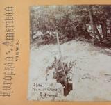 USA MAMMOTH CAVE ENTRANCE 230a, 1800s EUROPEAN AMERICAN VIEWS STEREOVIEW CARD.