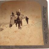 Mt BLANC 1901, THE SUMMIT, UNDERWOOD & UNDERWOOD STEREOVIEW CARD.