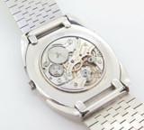 Vintage Audemars Piguet 18k White Gold Oval Ultra Slim Men's Wrist Watch