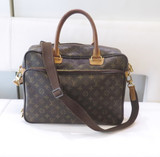 Louis Vuitton Canvas Monogram Icare Shoulder / Business Bag.