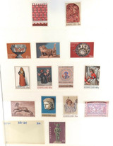 CYPRUS. 3 SUPERB MNH STAMP SETS.