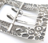 Antique S. Kirk & Son Co.1896-1924 Sterling Silver Repoussé Style Buckle 48.9g