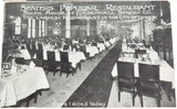 "c1900 SCARCE SET 3 ""SLATERS POPULAR RESTAURANT, LONDON"" UNUSED POSTCARDS."