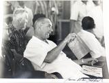 AMERICANA. 1960s PRESIDENT LYNDON B JOHNSON 100% GENUINE LARGE PHOTO