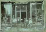 c1907 NICHOLASVILLE, KENTUCKY USA. LARGE STORE FRONT ORIGINAL PHOTO.