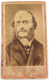 RARE 1800s RUSSIAN, WESENBERG & Co St PETERSBURG CDV COLLECTORS CARD. #9