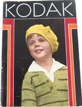 1931 KODAK CAMERA & SUPPLIES BOOKLET. VERY NICE CONDITION.