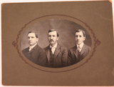 AMERICANA. 1800s LARGE QUALITY STUDIO PHOTO'S of MEMBERS of the SAME FAMILY.