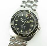 Vintage 79 Omega Seamaster Baby Ploprof Steel Mens Auto cal 1010 Watch 166.0250