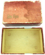 c1930s / 1940s LADY ELGIN WATCH / POCKET WATCH OUTER DISPLAY BOX.