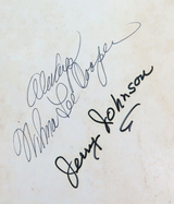 """AUTOGRAPHED GRAND OLE OPRY BOOKLETS. """"LITTLE"""" JIMMY DICKENS & WILMA LEE COOPER."""