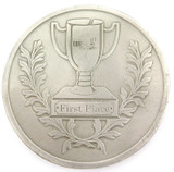 HUGE / SCARCE ? GUMBALL RALLY 2004 1ST PLACE METAL MEDALLION