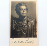 SCARCE c1930s SWEDISH OPERATIC TENOR TORSTEN RALF HANDSIGNED PHOTO / LOBBY CARD.