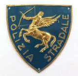 OBSOLETE VINTAGE ITALIAN MILITARY POLICE / POLICE PATROL BADGES PATCHES INSIGNIA