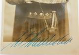 c1940s SWEDISH OPERATIC TENOR SET SVANHOLM HANDSIGNED REAL PHOTO POSTCARD