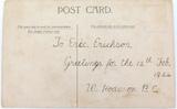 1920s CHROMOLITHOGRAPH POSTCARD. INDEPENDENT ORDER RECHABITES TEMPERANCE SOCIETY